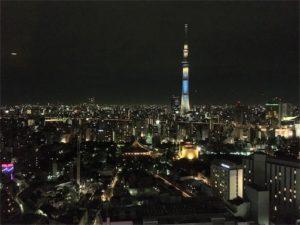 スカイグリルブッフェ武藏、東京スカイツリーが目の前に大きく見えます!!