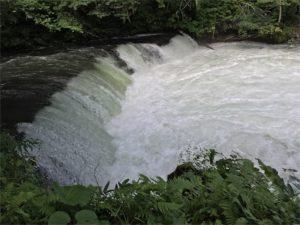 2016年夏の写真。さくらの滝は増水の影響あるかな?