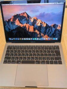 Touch Bar非搭載の新しいMacBookPro