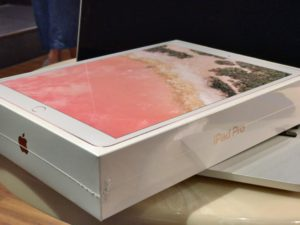 iPad Pro10.5ローズゴールドの箱を開けます!