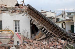 大きな地震、怖いすぎる・・・。