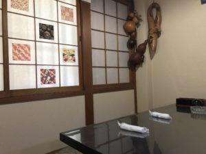 うじょう亭さん店舗内写真。