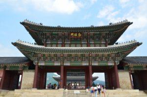 韓国の王宮殿 景福宮です!