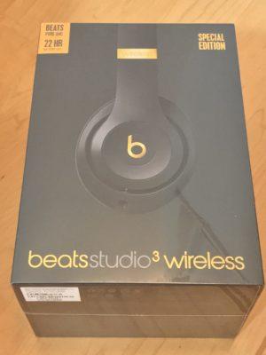 BeatsStudio3のパッケージが格好いい2