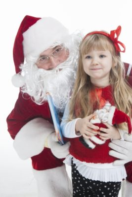 サンタクロースからのプレゼント、ずっと信じていてね。