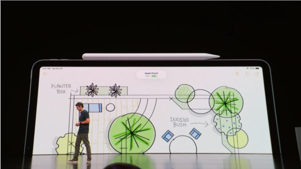 第二世代Apple Pencilは、iPadPro本体に磁石でくっつく